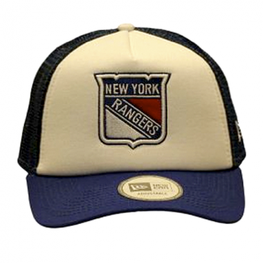 Kšiltovka New Era Trucker Hockey New York Rangers NHL Modrá ... 27e881cdb5