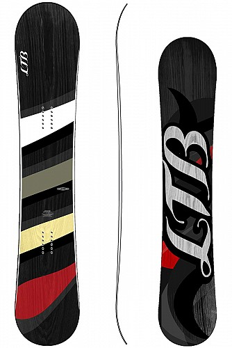 LTB EELS WHITE C snowboard